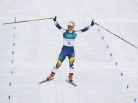 Olympic PyeongChang 2018: Huy chương Vàng đầu tiên thuộc về Charlotte Kalla của đoàn thể thao Thụy Điển