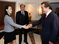 Phái đoàn Triều Tiên dự tiệc trưa do Thủ tướng Hàn Quốc chủ trì