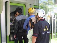Giáp Tết, các trạm ATM tại TP.HCM rút tiền bình thường