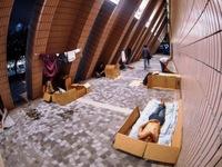 Số người vô gia cư tại Hong Kong (Trung Quốc) tiếp tục gia tăng