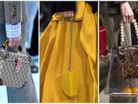 Những mẫu túi lên ngôi trên sàn diễn thời trang mùa này
