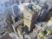 Nhật Bản xây tòa nhà chọc trời bằng... gỗ