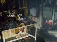 Cứu thoát 5 em nhỏ trong căn nhà cháy dữ dội ở Đà Lạt