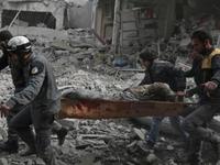 Ngừng bắn theo giờ, thiết lập hành lang nhân đạo tại Đông Ghouta, Syria