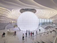Ngỡ ngàng 'vũ trụ sách' khổng lồ ở Trung Quốc
