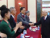 Tổng Bí thư gặp gỡ kiều bào tham dự chương trình 'Xuân quê hương'