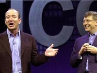 Amazon lần đầu tiên vượt Microsoft về giá trị vốn hóa