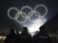 ẢNH: Lễ khai mạc đầy màu sắc của Olympic Pyeongchang 2018
