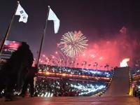 Olympic mùa đông Pyeongchang 2018 chính thức được bắt đầu
