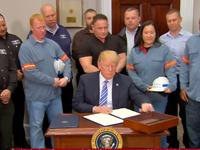 Mỹ công bố thuế nhập khẩu mới đối với thép và nhôm