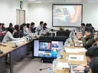 Cùng MC Thụy Vân, Hạnh Phúc khám phá 'Nội dung số' của VTV tại Hội báo toàn quốc 2018