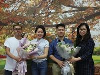 GLTT cùng ê-kíp làm phim VTV Đặc biệt - Miền đất hứa
