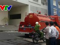 Vụ cháy chung cư tại TP. Hồ Chí Minh: Khói lửa bất ngờ bùng phát trở lại tại khu vực hầm để xe