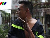 Những đóa 'hoa lửa' trong công cuộc giải cứu cháy chung cư Carina