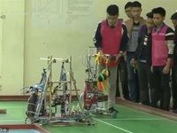 Robocon 2018: Sôi nổi vòng loại cấp trường tại ĐH Công nghiệp Hà Nội