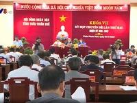 HĐND tỉnh Thừa Thiên Huế họp chuyên đề thông qua một số nghị quyết quan trọng