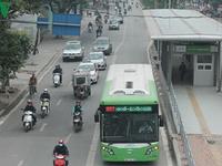 Dừng triển khai tuyến bus nhanh BRT 02 Kim Mã - Hòa Lạc