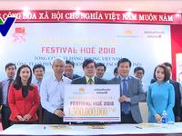 Lễ ký kết tài trợ nhà vận chuyển chính cho Festival Huế lần thứ X-2018