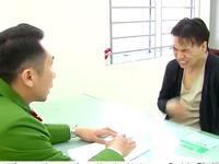 CLIP Châu Việt Cường nhăn nhó vì cổ họng bỏng, khai nhận tại cơ quan điều tra