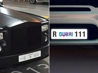 Dubai thử nghiệm biển số xe điện tử