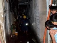 Cháy nhà khiến cả khu dân cư náo loạn