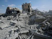 3 dân thường bị thương trong cuộc không kích Syria của Mỹ, Anh, Pháp