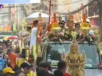 Nhiều hoạt động ý nghĩa chào đón Tết Bun Pi May ở Lào
