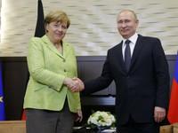 Nga, Đức nhất trí thúc đẩy tiến trình chính trị về Syria