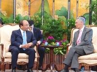 'Chuyến thăm chính thức Singapore của Thủ tướng Nguyễn Xuân Phúc thành công tốt đẹp'
