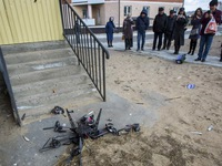 Thiết bị bay không người lái giao hàng đầu tiên của Nga bay đụng tường