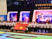 Khai mạc vòng loại Robocon Việt Nam 2018 khu vực phía Nam