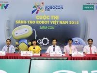 """Đây chính là những người """"cầm cân nảy mực"""" tại VCK Robocon Việt Nam 2018"""
