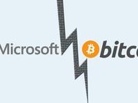 Microsoft cấm cửa Bitcoin