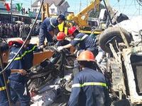 Xe tải gây tai nạn ở Lâm Đồng không mất phanh