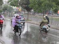 Không khí lạnh về, Bắc Bộ mưa rào, trời rét đậm