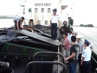 Gian nan chống nạn buôn lậu dầu trên biển
