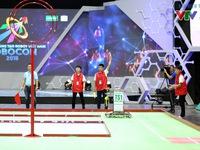 Nhiều giải pháp kỹ thuật, đấu pháp sáng tạo được sử dụng tại Robocon Việt Nam 2018