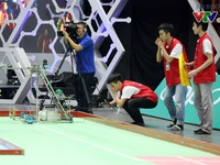 Những khoảnh khắc ấn tượng tại vòng loại Robocon Việt Nam 2018