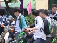 Báo động tình trạng học sinh THPT vi phạm Luật Giao thông ngày càng tăng