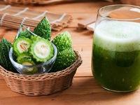 Nước ép mướp đắng cực tốt cho người bệnh tiểu đường và muốn giảm cân
