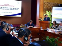 Vietnam Infrastructure Working Group launched