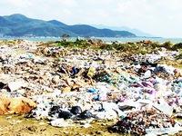 Khánh Hòa: Dự án công viên biến thành bãi rác
