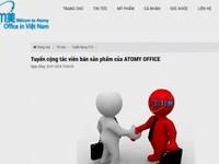 Bộ Công Thương cảnh báo bán hàng đa cấp không phép sản phẩm Atomy