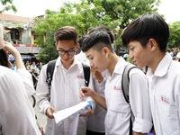 Hà Nội công bố điểm chuẩn vào lớp 10 các trường công lập năm 2018