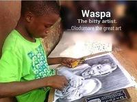 Tài năng của họa sĩ nhí 11 tuổi ở Nigeria