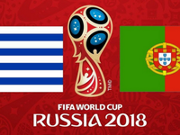 Trước trận: ĐT Uruguay – ĐT Bồ Đào Nha: Ronaldo đấu Suarez và Cavani (1h đêm  nay, 1/7)