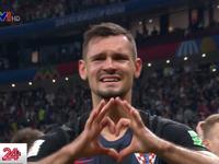 Nhiều cầu thủ Croatia bật khóc sau chiến thắng trước ĐT Anh tại bán kết World Cup 2018
