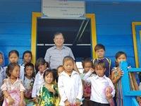 Khánh thành lớp học cho Việt kiều tại tỉnh Pursat (Campuchia)