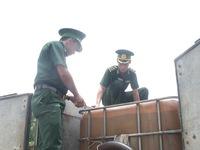 Quảng Ngãi: Bắt giữ 1000 lít dầu DO vận chuyển trái phép