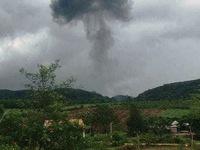 Rơi máy bay quân sự ở Nghệ An, 2 phi công hi sinh